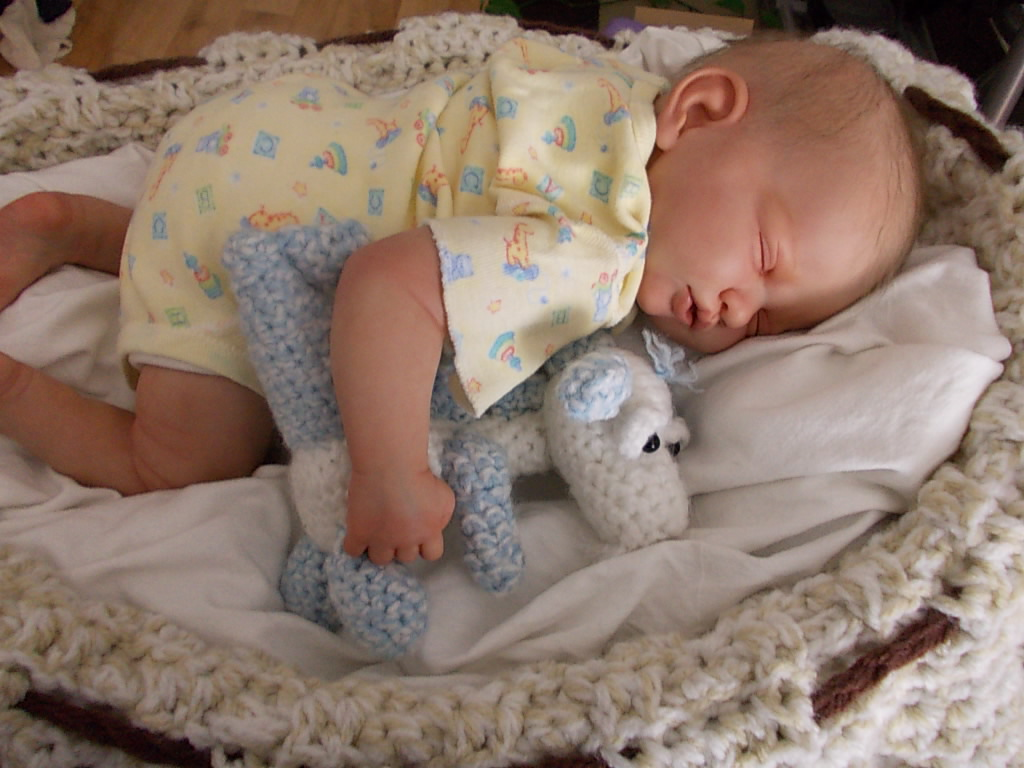 "Reborn Baby boy, ""Boo"" was Jessy by Manga Dolls"