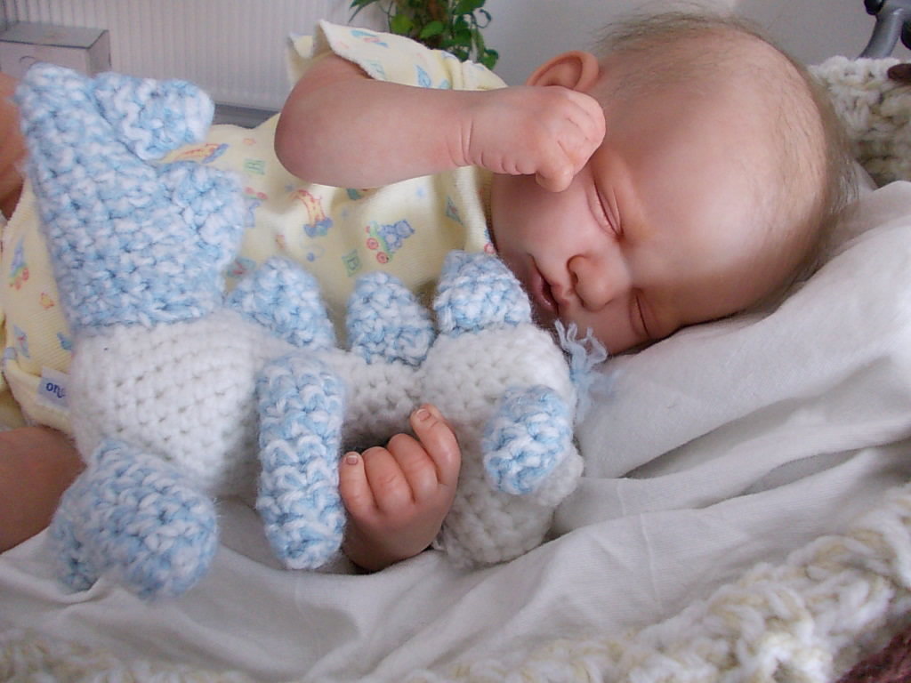 Reborn Baby boy Jessy by Manga Dolls