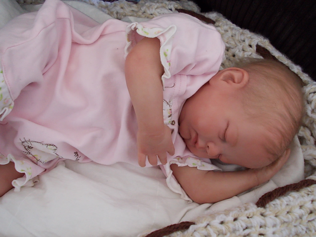 Reborn baby girl Sienna by Denise Pratt