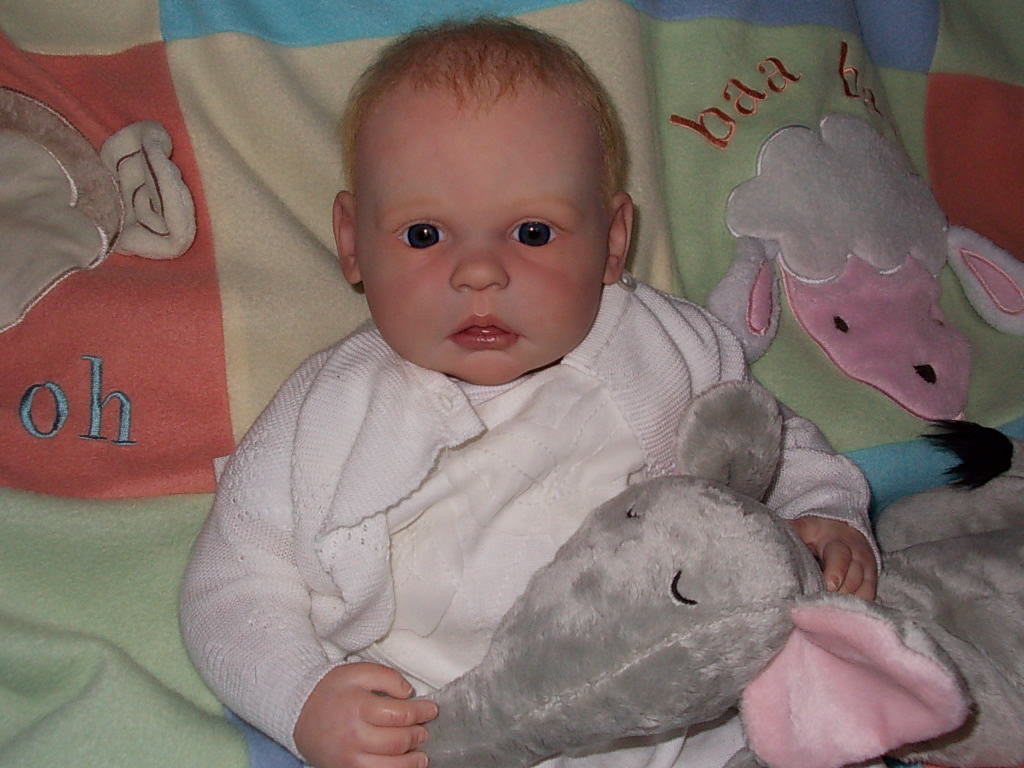 Reborn baby girl Elizabeth Anne was Gracie by Ann Timmerman