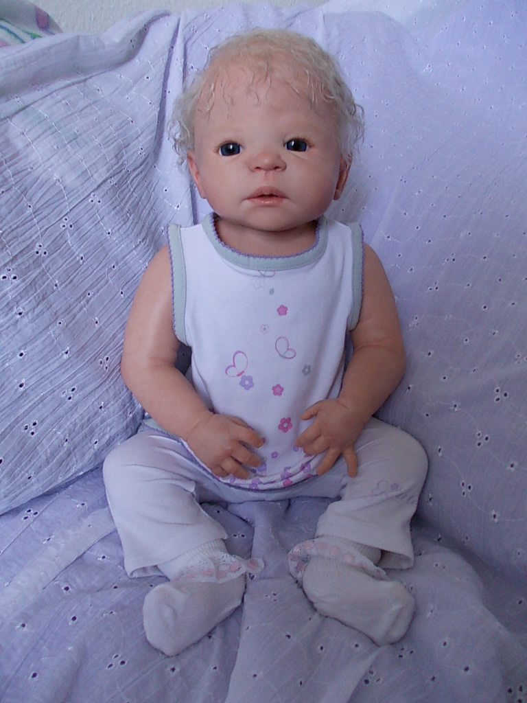 Graysen - was Victoria by Sheila Michael - reborn baby doll
